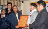 Lifetime achievement award a source of encouragement for strength lifter Ganesh Subba