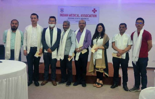 Indian Medical Association Sikkim Branch elects its first committee