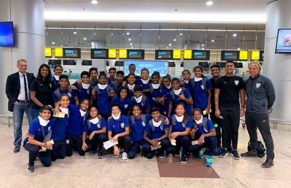 Sikkim girl in Indian u-17 football squad for Turkey exposure trip