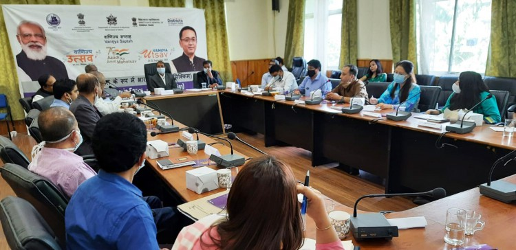 Vanijya Saptah: Panel discussion held on export prospects, challenges of various sectors in Sikkim