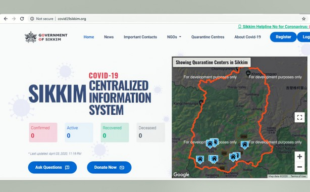 Dedicated State Portal for COVID-19 launched