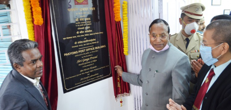 Governor inaugurates Pakyong post office building