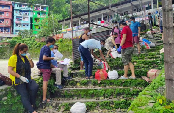 Ration provided to residents living under containment zones