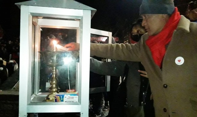 Eternal flame and prayer from Darjeeling for world during this pandemic