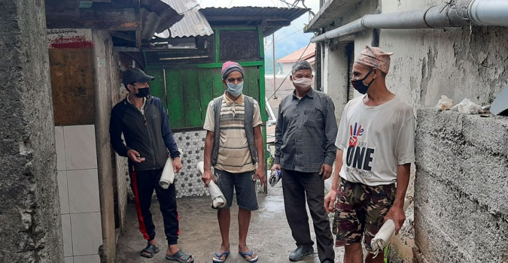 Nepalese porters want to return home