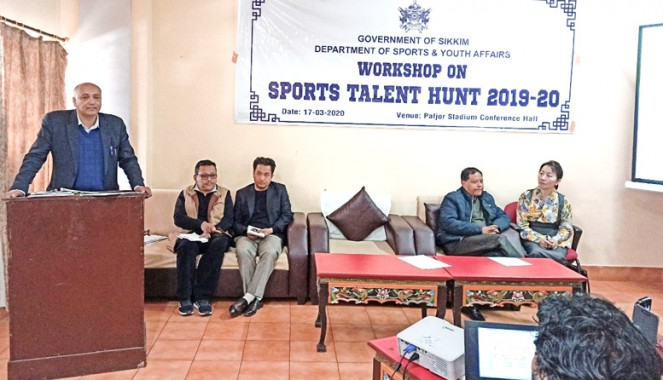 Sports talent hunt postponed