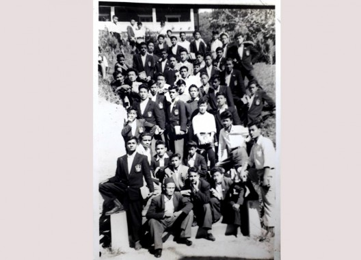 THINKING LOCAL Students of the Year 1960 Class IX of Tashi Namgyal Academy
