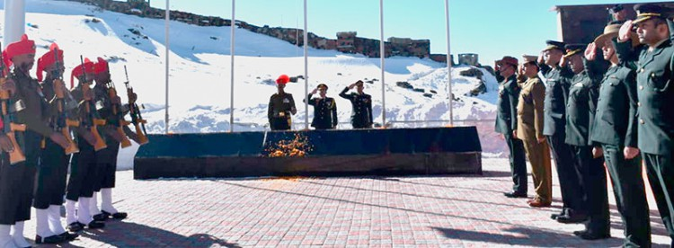 Indian-Chinese troops celebrate Republic Day, Chinese Lunar Year