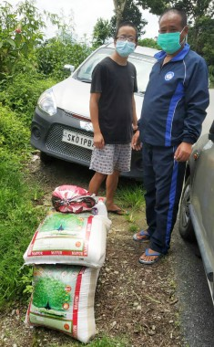 Essential commodities at doorsteps of contained Pakyong residents