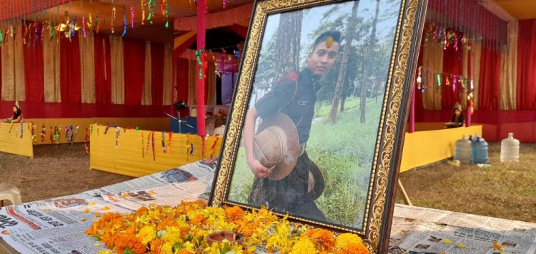 Martyr remembered at Chhath Puja