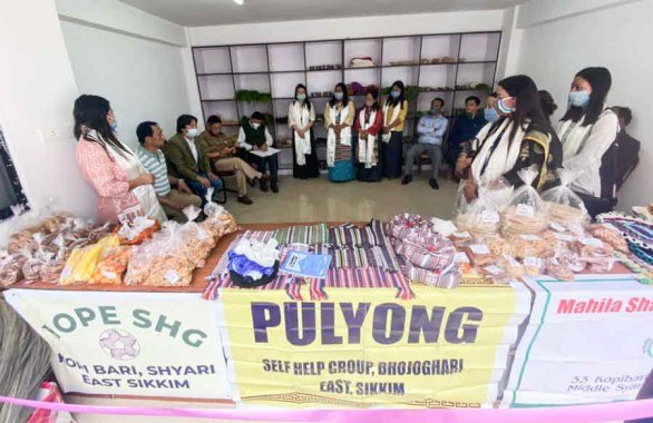 Local marketing space for SHGs at Forest Secretariat