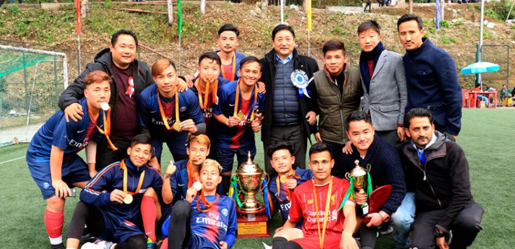 1st Open Minister's Futsal Tournament 2020 concludes at Mangan