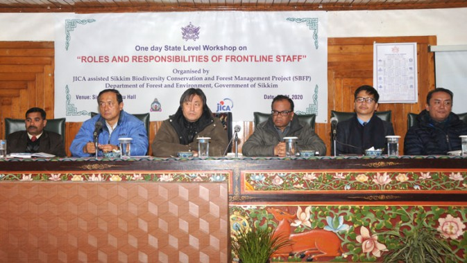 Workshop held for Forest frontline staff