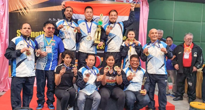 Rich medal haul for Sikkim strength lifters