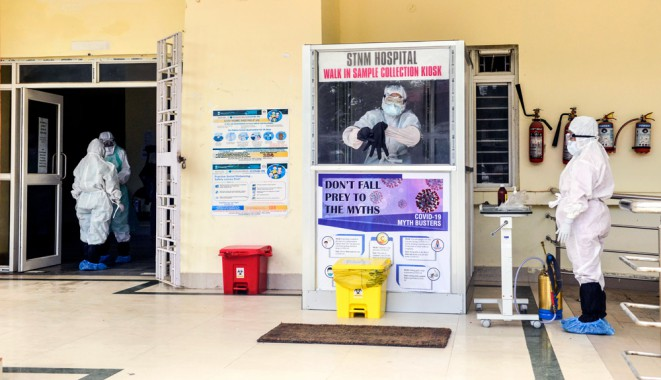 STNM viral lab testing to ease load on quarantine centres