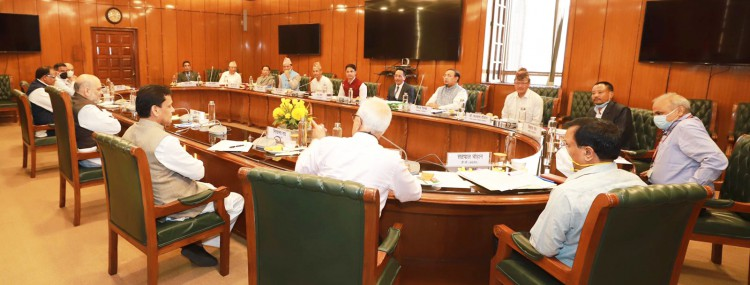 Permanent political solution demanded at tripartite talks, second meeting after Diwali