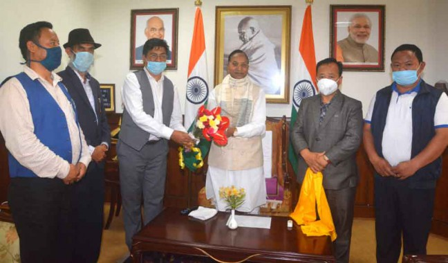 State BJP press for coordination with SKM government on pending issues