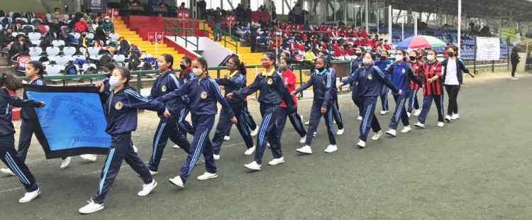Gangtok Junior Olympic Games at Paljor Stadium