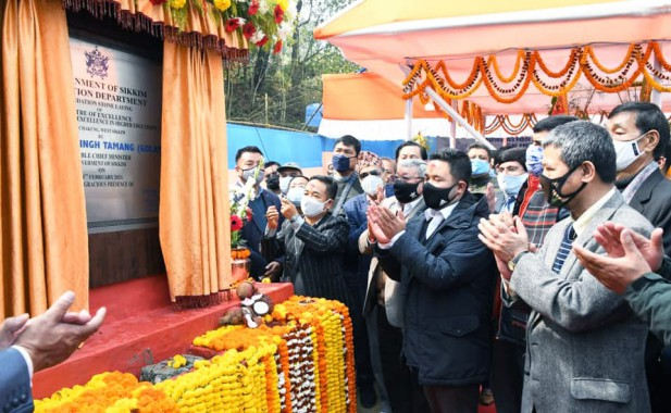 Foundation stone laid for Centre of Excellence at Chakung