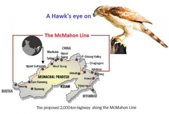 A hawk's eye on the McMahon Line