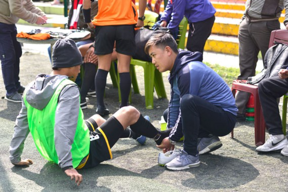 Happy with the experience gained: Physio Tseten Namgyal