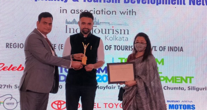 Yangang winsmost innovative tourism product award