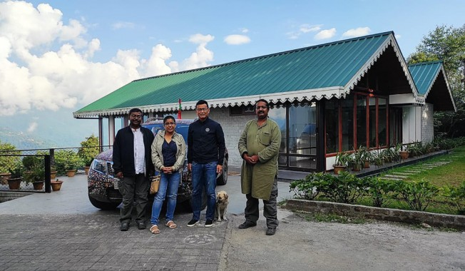 Road Ashram initiative to help Covid-hit people reaches Sikkim
