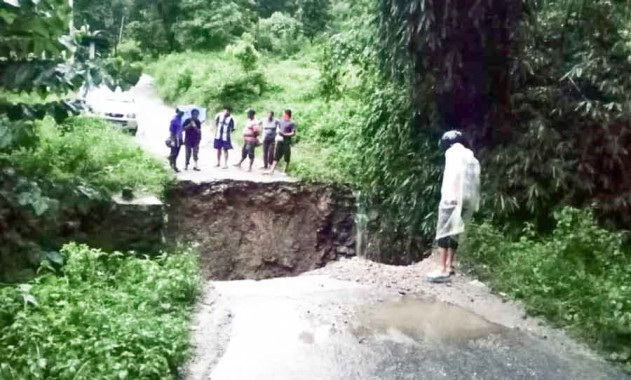 Boy washed away in Kalimpong