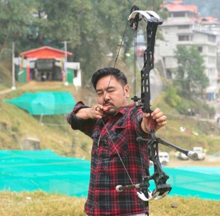 CM's Archery Gold Cup Starts Today Sikkim side against Bhutan team in opening match