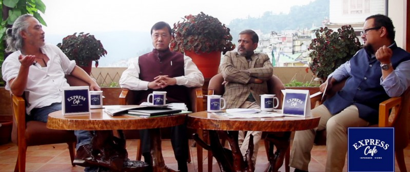 Express Café episode on various aspects of Covid persistency and third wave preparedness in Sikkim