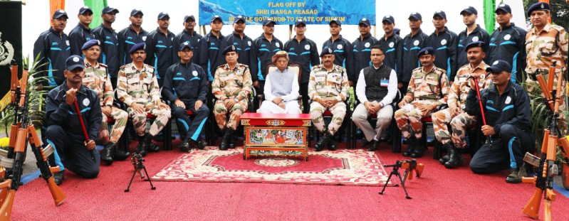 Governor flags-off ITBP expedition
