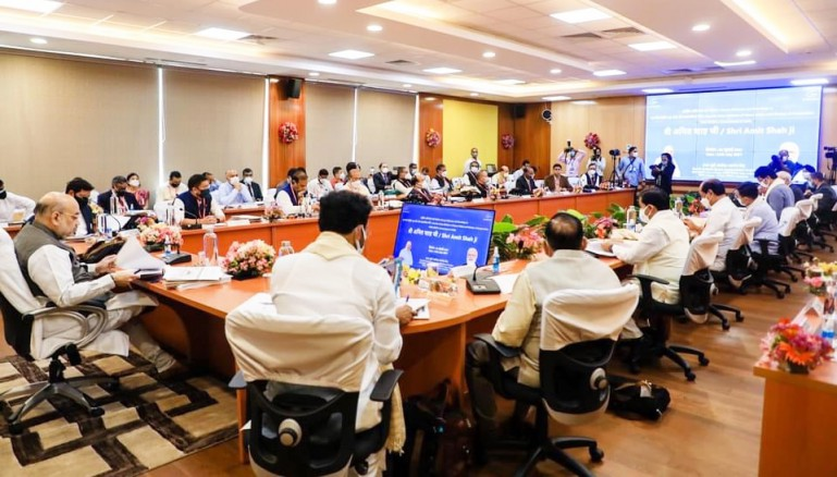 CM attends NESAC meeting at Shillong, highlights protective needs of Sikkim against glacial lake outburst floods